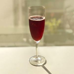 バルサミコドリンク(ザクロ)ブイザグラス