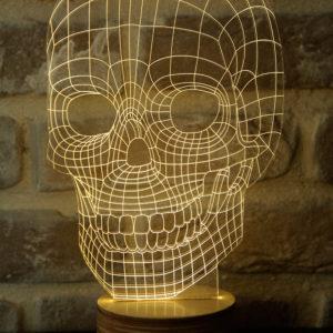 SKULL LAMP (LED)